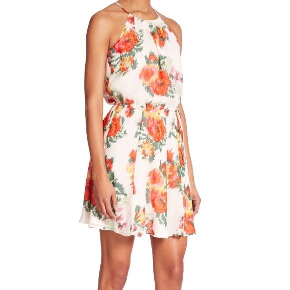 6c8fc967379 Joie Dresses   Skirts - Joie silk floral print makana halter dress size xs